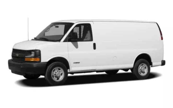 2019 Chevrolet Express Exterior