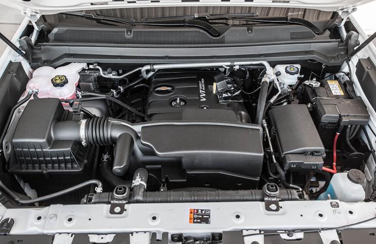 2021 Chevrolet Colorado Engine