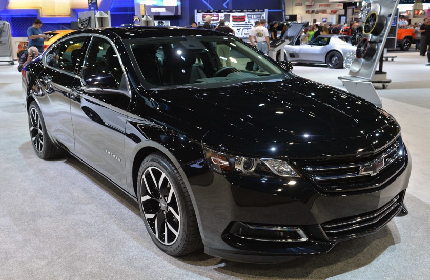 2019 Chevrolet Impala Exterior Changes