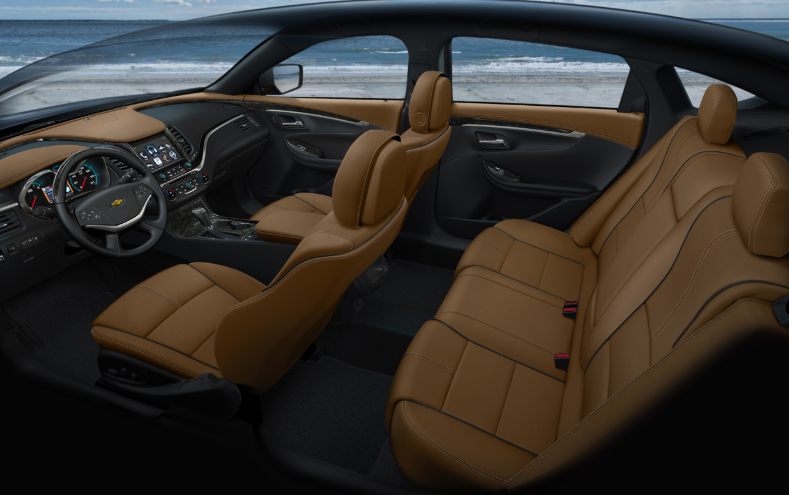 2021 Chevrolet Impala Interior Changes