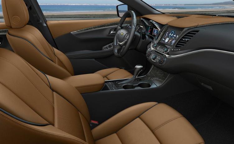 2021 Chevrolet Impala Interior Design