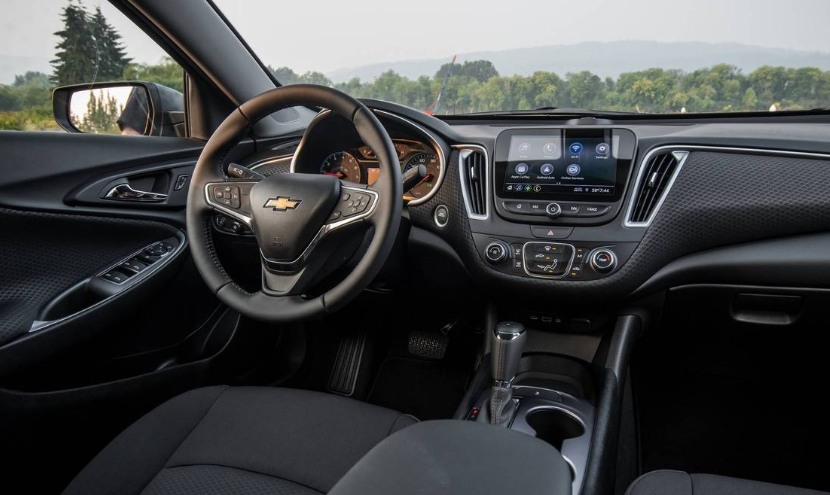 2019 Chevrolet Malibu Interior Changes