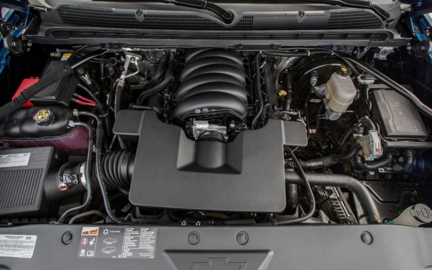 2021 Chevrolet Silverado 1500 Engine