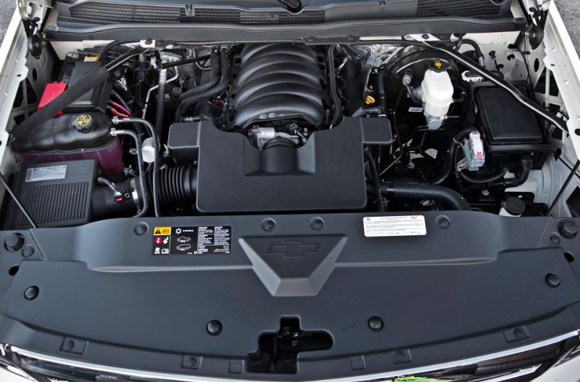 2021 Chevrolet Silverado 1500 Engine Specs
