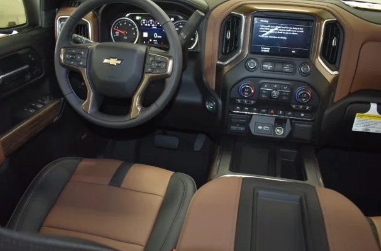2021 Chevrolet Silverado 1500 Interior Design