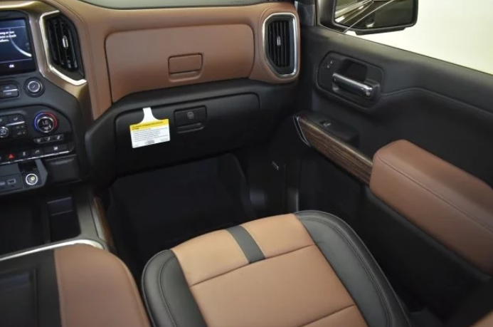 2021 Chevrolet Silverado 1500 Interior Changes
