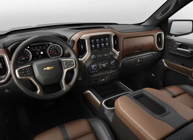 2019 Chevrolet Silverado 1500 Interior Changes