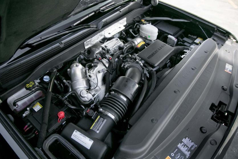 2021 Chevrolet Silverado 2500 Engine Specs