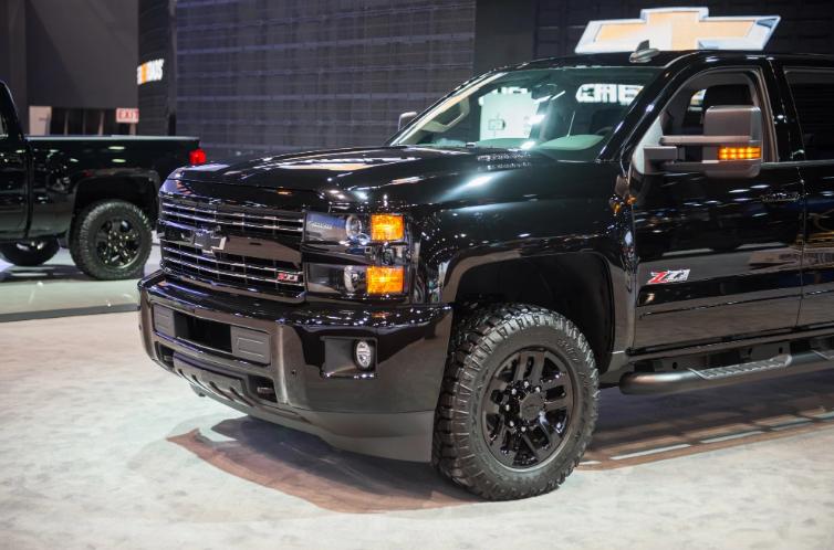 2019 Chevrolet Silverado 2500 Exterior Changes