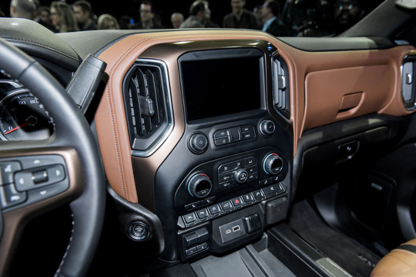2019 Chevrolet Silverado 2500 Interior Design