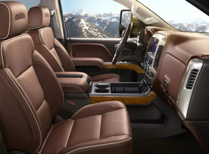 2021 Chevrolet Silverado 3500 Interior
