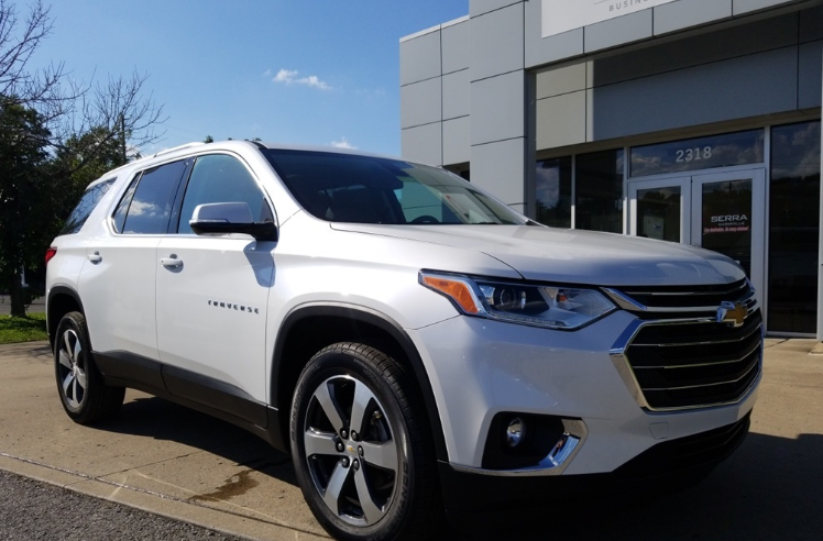 2019 Chevrolet Traverse Exterior Design