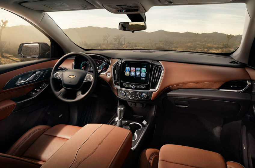 2021 Chevrolet Traverse Interior Design