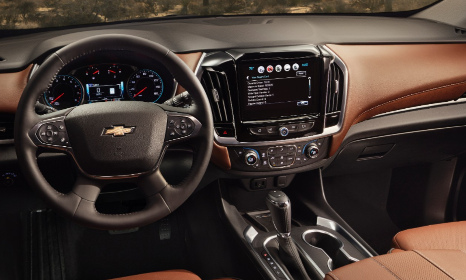 2021 Chevrolet Traverse Interior Changes