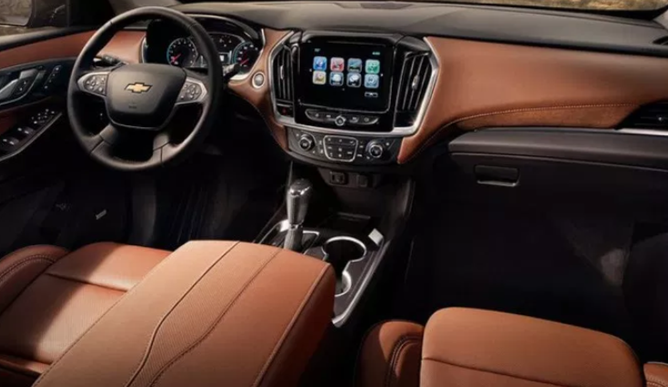 2021 Chevrolet Traverse Interior