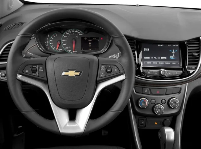 2021 Chevrolet Trax Interior Design
