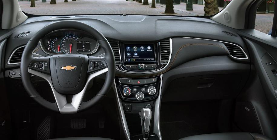 2021 Chevrolet Trax Interior Changes