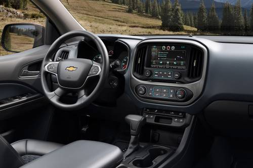 2019 Chevrolet Colorado Extended Cab Interior | Chevrolet ...