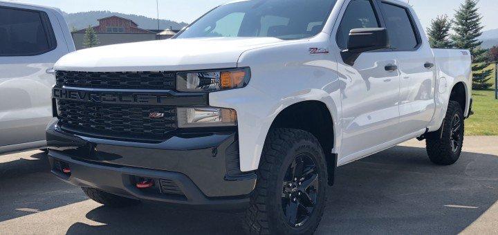 2019 Chevrolet Silverado 1500 Custom Trail Boss ...