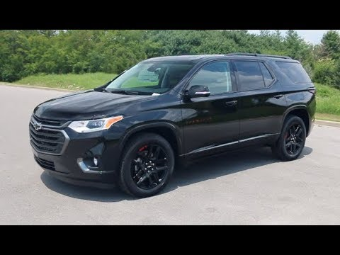 2019 Chevrolet Traverse Black Redline Edition | Chevrolet ...