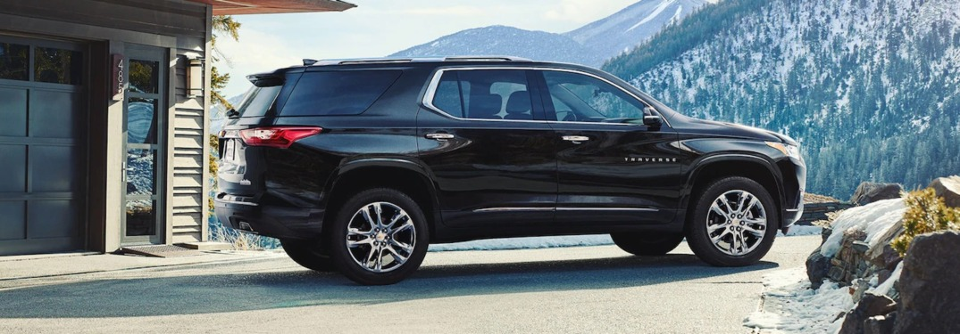 2019 Chevrolet Traverse High Country Colors | Chevrolet ...