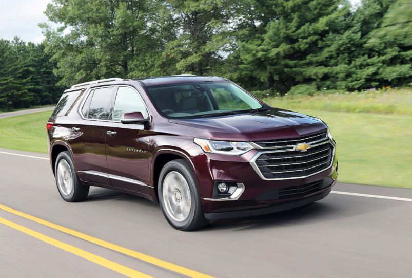 2019 Chevrolet Traverse High Country Towing Capacity