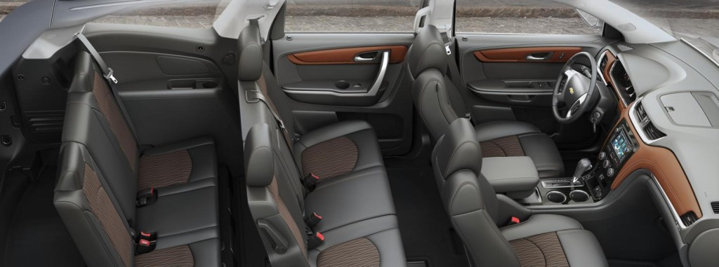 2019 Chevrolet Traverse Seating Capacity 8 Chevrolet