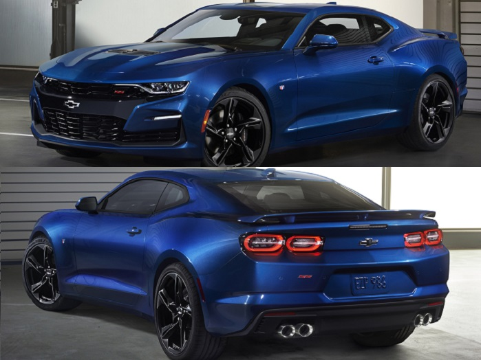 2019 Chevy Camaro Tail Lights Chevrolet Engine News