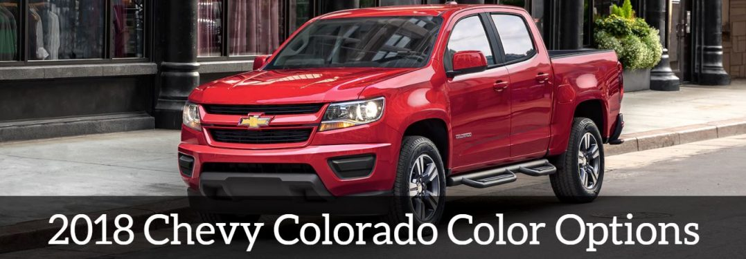 2019 Chevy Colorado Exterior Colors | Chevrolet Engine News