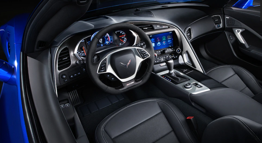 2020 Chevrolet Corvette Interior Design