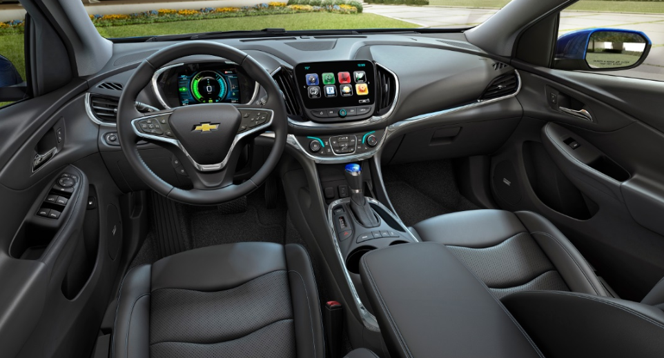 2020 Chevrolet Sonic Interior Design