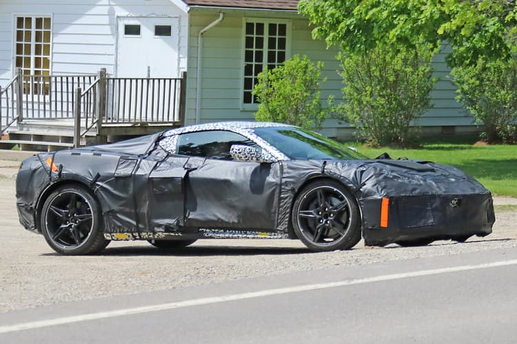 2020 Chevrolet Corvette ZR1 Spy Photo | Chevrolet Engine News
