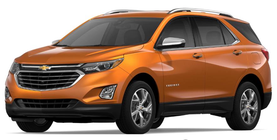 2020 Chevrolet Equinox Color Options | Chevrolet Engine News