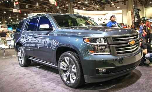2020 Chevrolet Suburban White Cobcept | Chevrolet Engine News