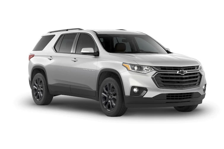 2020 Chevrolet Traverse Black Bowtie Design | Chevrolet ...