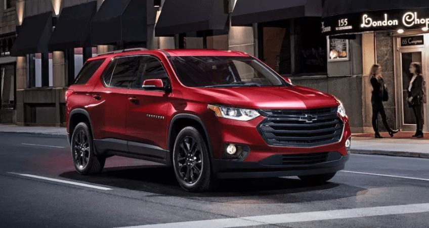 2020 Chevrolet Traverse Black Redline Edition | Chevrolet ...