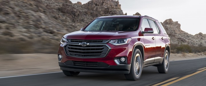 2020 Chevrolet Traverse Exterior Colors | Chevrolet Engine ...