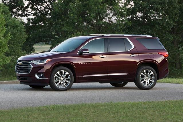 2020 Chevrolet Traverse Fwd 4DR Premier W/1LZ | Chevrolet ...