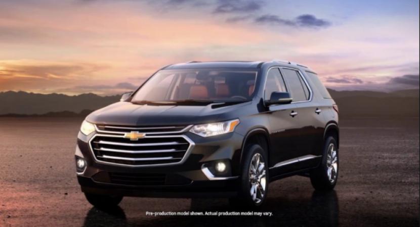 2020 Chevrolet Traverse Premier Towing Capacity   Chevrolet Engine News