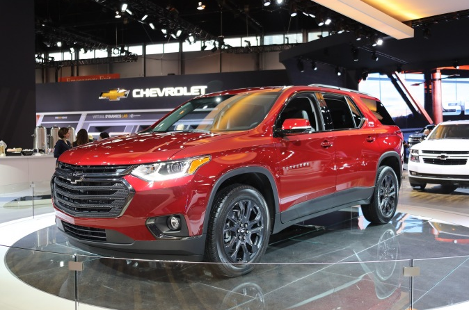 2020 Chevrolet Traverse RS Specs | Chevrolet Engine News