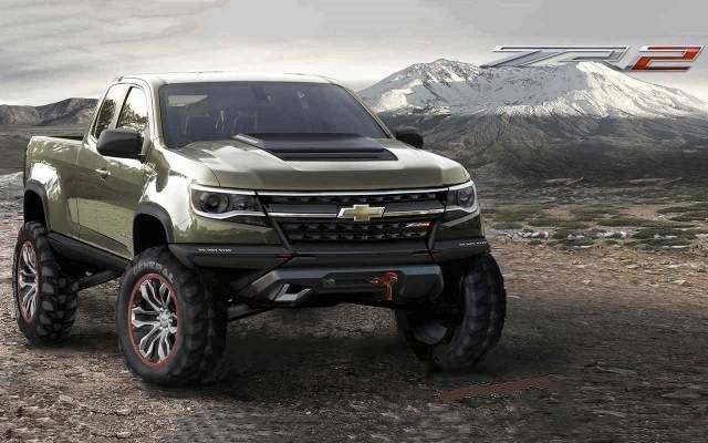2020 Chevy Colorado Z71 Concept | Chevrolet Engine News