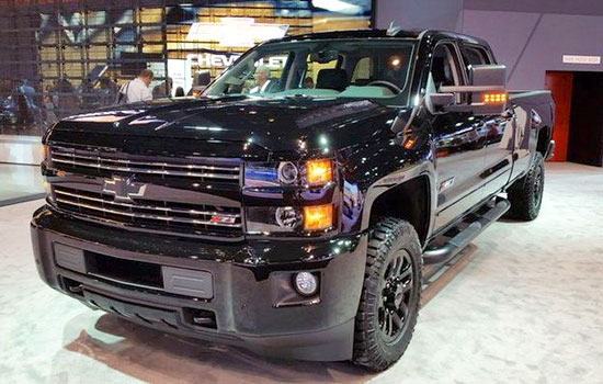 2020 Chevy Silverado 2500 Midnight Edition | Chevrolet ...