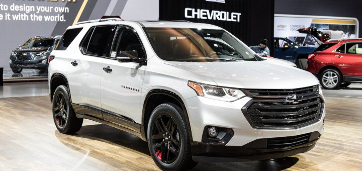 2020 Chevy Traverse Redline Edition | Chevrolet Engine News