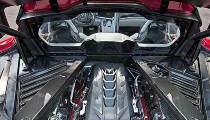New 2022 Chevrolet Corvette Engine