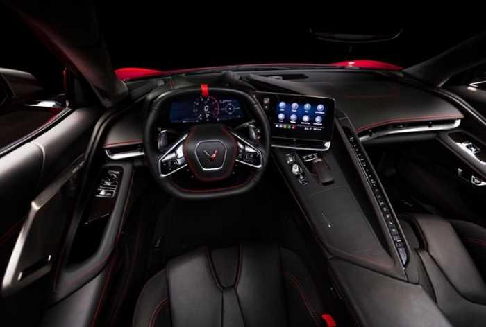 New 2022 Chevrolet Corvette Interior