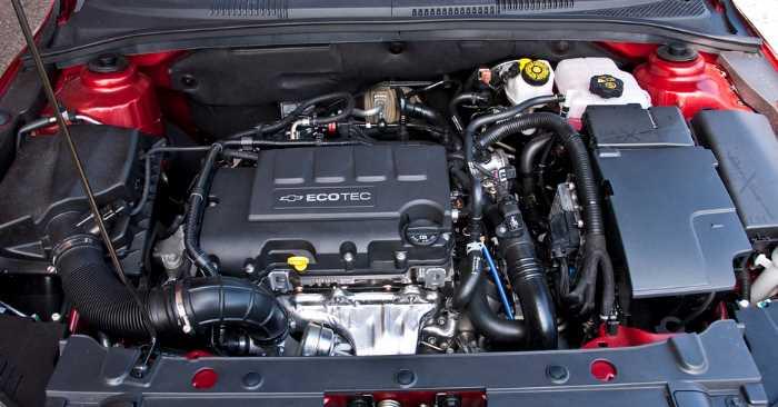 New 2022 Chevrolet Cruze Engine
