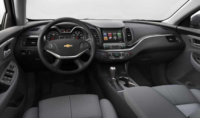 New 2022 Chevrolet Impala Interior