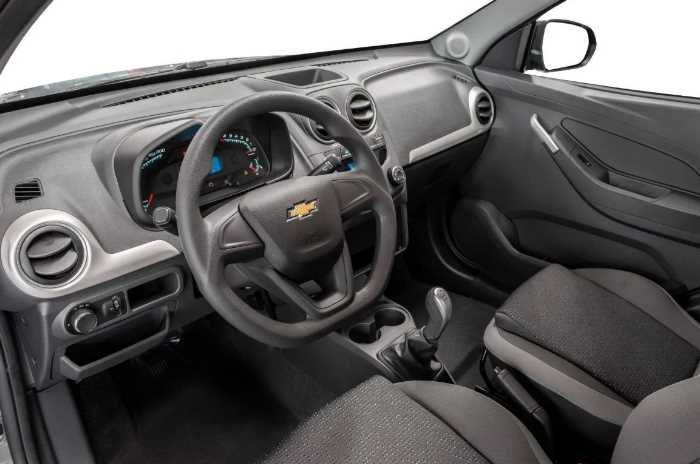 New 2022 Chevrolet Montana Interior