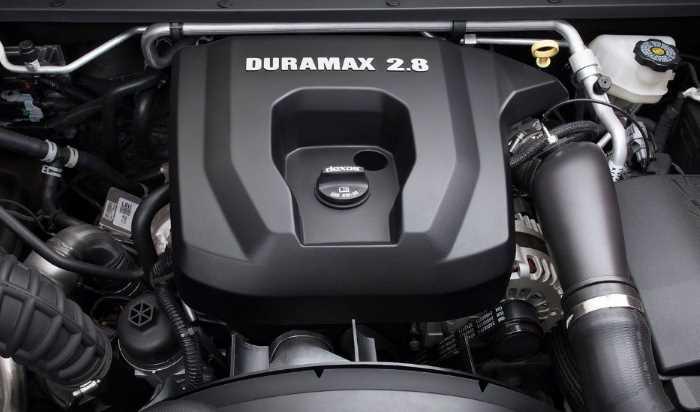 New 2022 Chevrolet S10 Engine