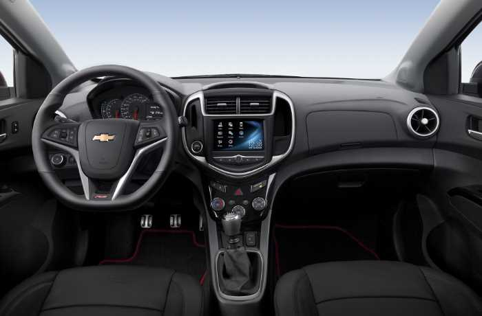 New 2022 Chevrolet Sonic Interior